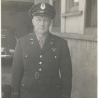 [Arthur Alphonse Nordhoff in Civil Air Patrol uniform]