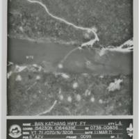 [Aerial view of highway in Laos]