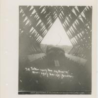 [Thomas E. Selfridge in Cygnet I kite]