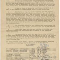 [Memorandum to Robert H. Neale from Staff Headquarters, Thirteenth Naval District, regarding orders for elimination flight training, June 15, 1938]