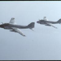[Grumman A-6 (A2F) Intruder/Prowler aircraft in flight]