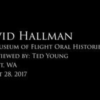 David Hallman oral history interview
