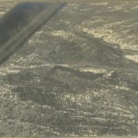 [Aerial view of mountain range]