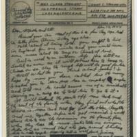 [V-mail letter to Clara Stewart from her son, fighter ace James C. Stewart, December 15, 1944]