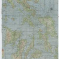 [Silk map of Visayan Islands]