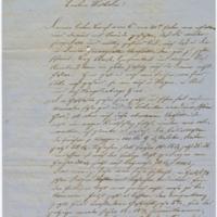 "[Letter to ""Wilhelm"" (William E. Boeing) from Wilhem Böing, November 6, 1872]"