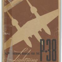 Pilot training manual for the Lightning P-38