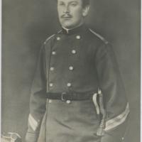 [Portrait of unidentified soldier]