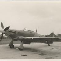 [Hawker Hurricane aircraft]