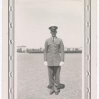[Thomas Walter Jackson in U.S. Army Air Corps Aviation Cadet uniform]