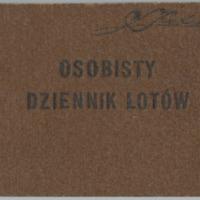 [Flight logbook for Leon Swietlikowski, circa 1938-1939]