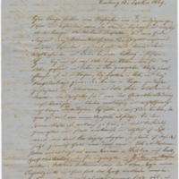 "[Letter to ""Wilhelm"" (William E. Boeing) from Wilhelm Böing, September 13, 1869]"