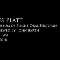 James H. Platt oral history interview