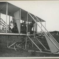 [Orville Wright in Wright Model B]