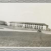 "[""C"" Company living quarters at Randolph Field]"