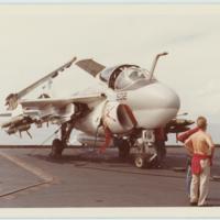 [Grumman A-6 Intruder on USS Kitty Hawk (CV-63)]