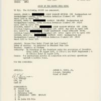 General Orders Number 2249 [Bronze Star recipients]