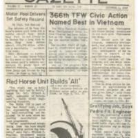 Gunfighter Gazette [Newsletters, 1968-1969]